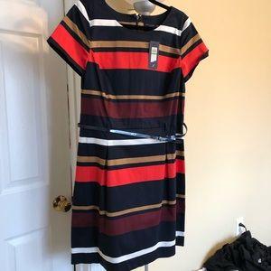 Striped Tommy Hilfiger dress with belt